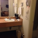 Wash basin, separate from bathroom