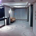 Холл в районе лифтов