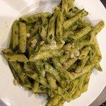 Pasta with home made Pesto!!!