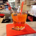 A perfect Aperol Spritz cocktail