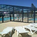 piscine couverte solarium