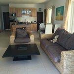 living room from balcony to front door