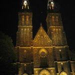 Vysehrad Park and St. Peter & Paul Church in Prague