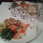 un des plats,  saveurs nordique, un régal