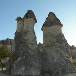 3本のきのこ岩