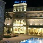 Front av hotellet