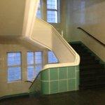 Escaleras del hotel