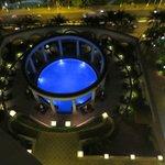 Der Pool wirklich beeindruckend