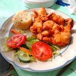 Delicious Tempura Shrimp!