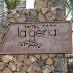 Beach Enterance to Hotel grounds
