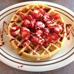 Fresh Strawberries with Rasberry and Vanilla