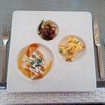 Tasting breakfast at El Mar