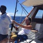 catching my marlin