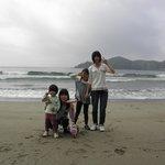 弓ヶ浜の孫たち