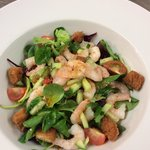 Daily special prawn salad