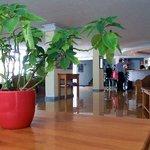 La hall dell'Hotel Maritimo
