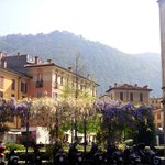 Bellavista, Brunate (at top of mountain) as seen from Como