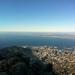 At The Top - View over Robben Island