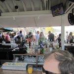 Outside bar area