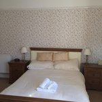 A lovely large bright double room at the front of the guest house
