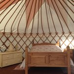 "Our 18ft ""Family"" yurt"