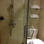 deluxe room with rain shower