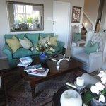 Lounge im Frühstücksraum
