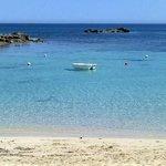 Un pezzetto della spiaggia di Es Pujols