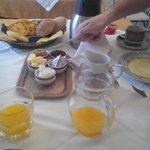 Desayuno en el riad