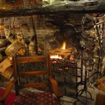 Giants Fireplace Bar at The Mermaid Inn照片