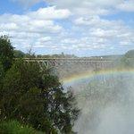Cataratas Victoria desde Zambia