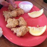 Alligator Bites with moustard - worth a try
