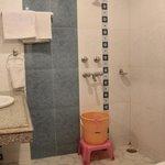 Bathroom: Golden Wheel Room