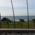 view from balcony, ocean front room, 3rd floor