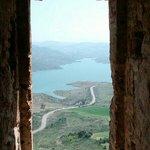 Vista desde una ventana de la torre. Impresionante