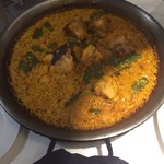 Horrible Valenciana Paella It was ready in ten minutes, it was from microwave i guess