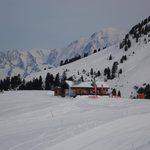 Le Dou du Praz from our chalet