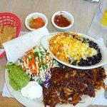 Carnitas Plate - Crunchy yummy goodness!