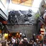 Horse Tunnel Market - one of the Camden Market areas
