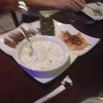 the appetizer platter