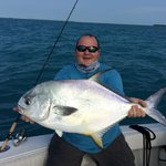 Amazing permit on light tackle