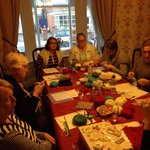 Knitting group at Westcliffe Hotel