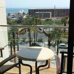 Blick aus dem Zimmer von Hesperia del Mar