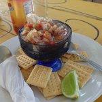 shrimp cheviche