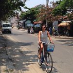 Free bike rentals make for a quick 5k jaunt to old city