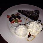 dessert au restaurant