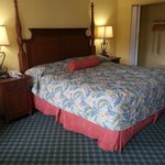 King bed in our Jacuzzi Suite. Comfy! Rm:436