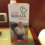 Leite Vasca no hotel