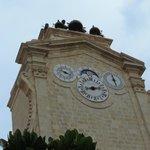 La belle horloge quadruple