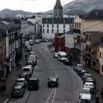 Killarney view from our room at McSweeny Arms